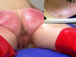 Enema spanking