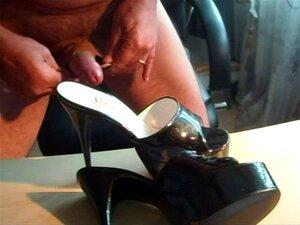 Cum high heels Free Cum